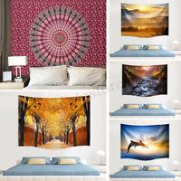 Multi Patterns Printing Indian Wall Blanket Beach Towel Home Living Room