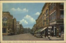 Three Rivers Quebec Street Scene Postcard