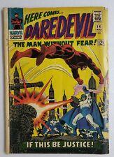 🔥 DAREDEVIL #14 1966 SILVER AGE STAN LEE KA-ZAR JOHN ROMITA COVER