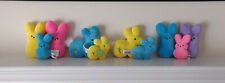Set of Peeps Plush and One Peeps Pillow For Sale