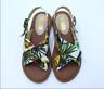 Women Beach Floral Flat Summer Stagger Casual Low heel Open Toe Ladies Fashion