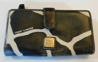 Dooney & Bourke Giraffe Print Leather Fullsize Wallet
