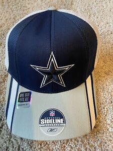 DALLAS COWBOYS 2005 NFL Reebok ON STAGE DRAFT DAY HAT CAP DeMarcus Ware NWT OSFA