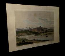 [SUISSE SCHWEIZ SWITZERLAND] PERIGNON - Vue du Lac de Lucerne. 1780.