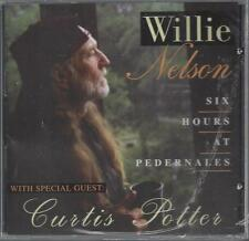 WILLIE NELSON SIX HOURS AT PEDERNALES CURTIS POTTER Buddy Emmons  RARE NEW CD