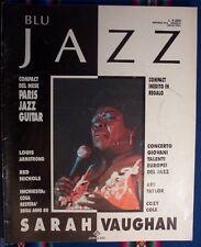 """Rivista """" Blu Jazz """" n. 6 - anno 2 - 1990"""