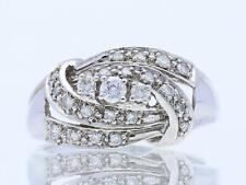 Valor: 1.400,- EUR vintage anillo 0,35 quilates brillante 585 oro 14 quilates