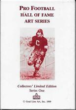 RARE SERIES ONE GOAL LINE ART CARDS~FULL 30 CARDS SET~SOLD OUT~SAME SERIAL #