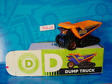 "2016 Matchbox Learning Blox ""D"" DUMP TRUCK Turf Tilter☆Orange; TOY BOX☆box"