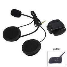 Auricular + Clip para 1200M Moto Bluetooth Interfono V6 Intercomunicador