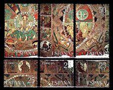 ESPAÑA 1980 2585/0 Tapiz Creación 6v.