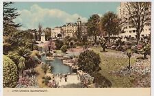 Dorset; Upper Gardens, Bournemouth PPC By Dearden & Wade, 1957 Jamboree PMK
