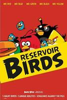 ANGRY BIRDS POSTER RESERVOIR BIRDS