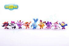 Smeshariki. Gogoriki. Kikoriki. PROSTO toys. A set of 9 figures.