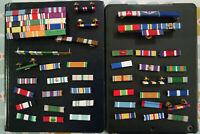 Lot Ribbon Racks- US Army Pin - NavY - ROTC - Civil Air Patrol -USAF