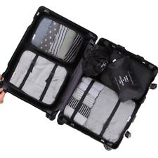 7 Pcs Ultralight Organizers Travel Packing Luggage Cubes Set Small Medium Large