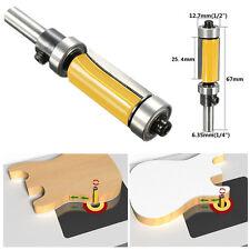 """Pattern Flush Trim Router Bit, 1""""-1/4'' Cutter Top Bottom Bearing Shank Woodwork"""