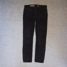 Pilcro and the letterpress brown skinny corduroy pants Anthropology women's 25