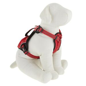 NEW KONG WASTE BAG RED REFLECTIVE DOG HARNESS SIZE POCKET M MEDIUM