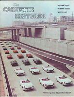 "27 Corvettes Harbor Freeway ,Los Angeles -""NCRS"" The Corvette Restorer 1977"