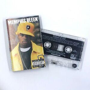 MEMPHIS BLEEK Coming Of Age Cassette Tape 1999 Rap Hip-Hop Rare