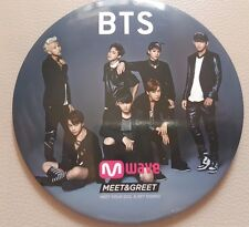 BTS Dark and Wild Mwave exclusive badge/ MEET AND GREET RARE