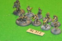 28mm secrets of the third reich WW2 US 10 infantry metal (as photo) (52312)