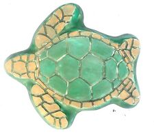 "1/8th"" plastic  sea turtle stepping stone mold  13"" x 12.5"" x 1.5"""