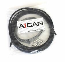 Aican MTB Mountain Bike bicycle Brake cable housing set kit vs Jagwire, Black