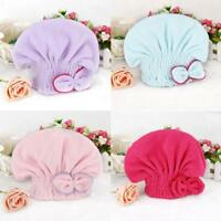 Dry Hair Cap Textile Useful Dry Microfiber Turban Quick Hair Hats Towels Bathing