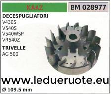 FLYWHEEL MAGNETIC magnet fan EARTH AUGER DRILL KAZZ AG 500 Ø109.5