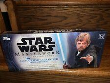 Topps Star Wars 2018 Masterwork Factory Sealed Trading Card Hobby Box