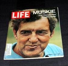 LIFE MAGAZINE NOVEMBER 5 TH 1971 ED MUSKIE