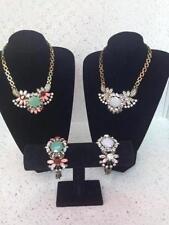 Collares y colgantes de bisutería color principal rosa sin piedra