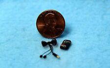 Dollhouse Miniature MP3 Player / Music with Ear Bud Cord ~ IM65505