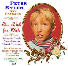 Peter Syden - Boy Soprano - Ein Lied für Dich 1970