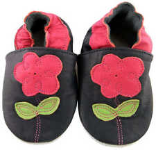 Leather Slip - on Baby Slippers