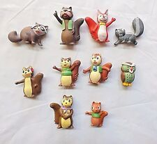 80´Vintage Bannertail:The Story of Gray Squirrel PVC Figures M+B Maia Borges  3+