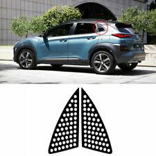 C Quarter Glass Carbon Fabric Decal Sticker for 2018 2019 Hyundai Kona