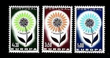PORTUGAL - PORTOGALLO - 1964 - Europa - Fiore con 22 petali - 3 valori