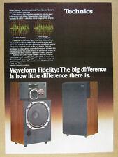 1979 Technics SB-L300 Linear Phase Speaker System vintage print Ad