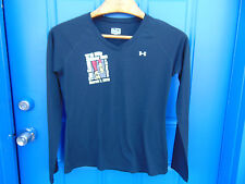 Marathon long sleeve shirt size medium 10 mile river run 2010 5K walk loose art