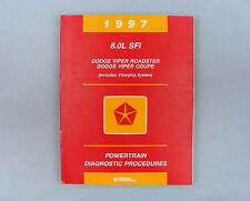 Powertrain Diagnostic Procedures, 1997 Viper 8.0L SFI, 81-699-96167