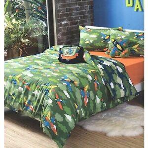 KAS Kooky Kamikaze Jet Army Plane DOUBLE Quilt Duvet Cover Set or Cushion