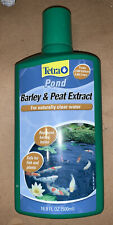 TetraPond Barley and Peat  Extract For Naturally Clear Water 16.9 Ounce NEW