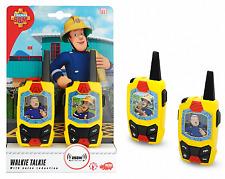 Dickie 203092001 - Feuerwehrmann Sam - Sam Walkie Talkie - Neu