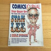 The Comics Journal #181 October 1995 Stan Lee Issue
