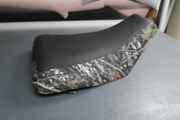 Honda TRX 400 Rancher 2005-06 Black Top Camo Seat Cover #nw220mik219