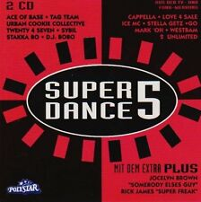 Super Dance Plus 5 (1994) Ace of Base, Tag Team, Cappella, Ice MC, Mark.. [2 CD]