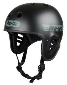 Pro-Tec Full Cut Certified Helmet, Matte Black